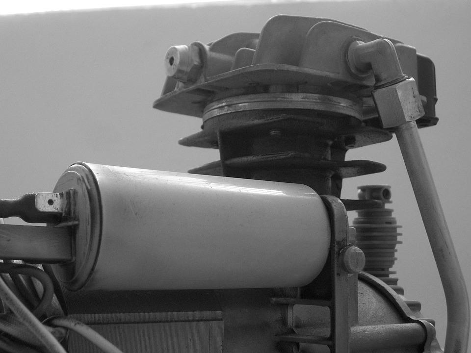historický kompresor