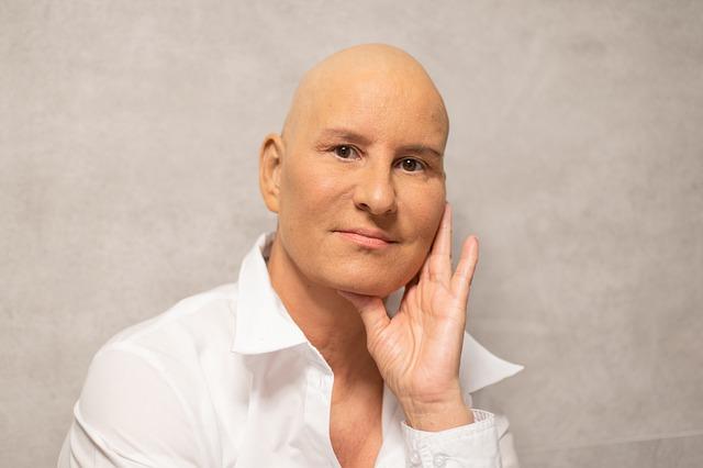 žena po chemoterapii