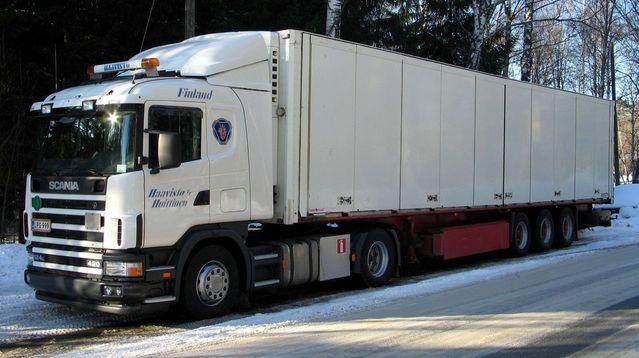 stěhovací kamion